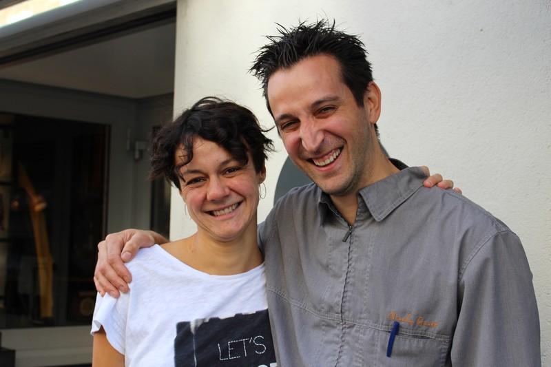 Solène Gatinault et Nicolas Guiet, deux des 30 restaurateurs participants à l'opération l'é.Paulée Nantaise.