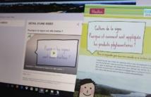 Le flyer et les vidéos reprennent toutes les questions que peuvent se poser les habitants des communes viticoles.