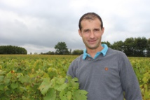 Romain Malidain est à la tête de l'association qui porte la démarche des crus Grandlieu.