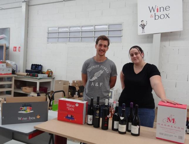 Wine & box : C'est dans la boîte !