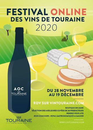 Festival des vins de Touraine et Biotyfoule : éditions « on line » cette année