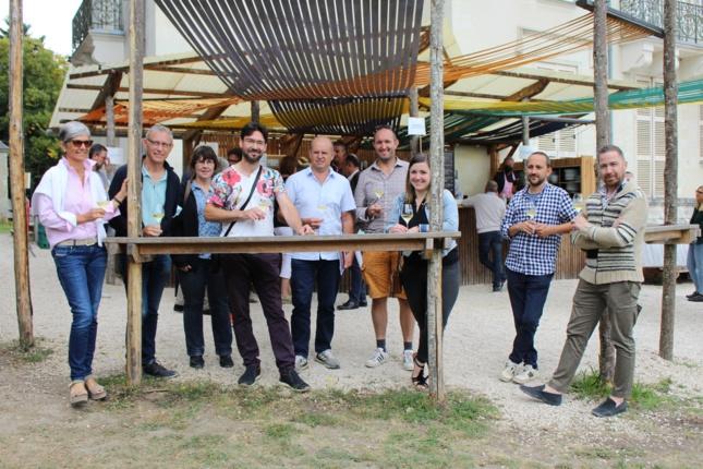 Une (petite) partie des chefs et vignerons participants à la 9e édition des Muscadétours.