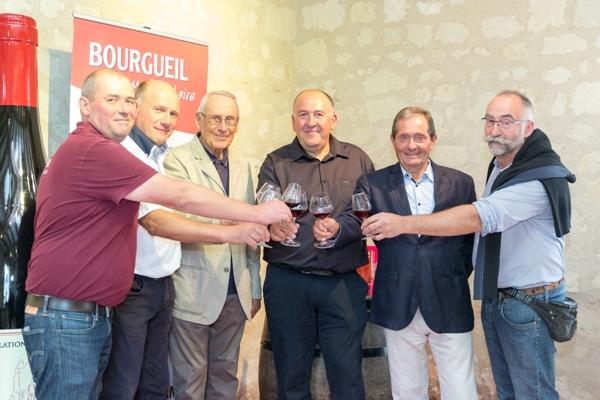 Philippe Pitault, Michel Delanoue, Jean Gambier, Philippe Boucard, Jean-Yves Billet et Jean-François Mabileau (crédit gaellebc photographe)