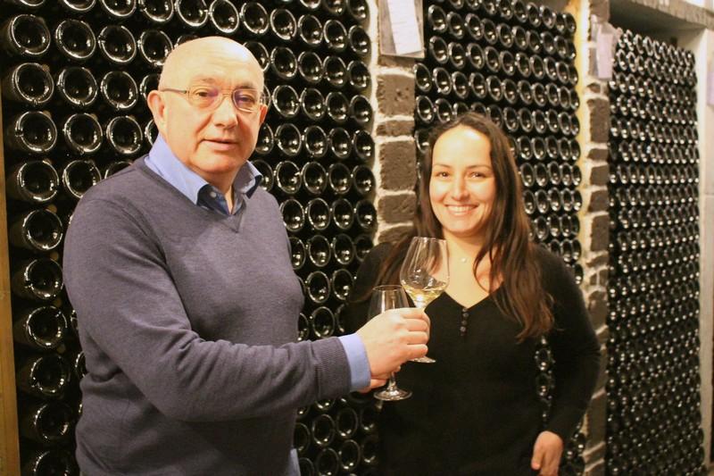 Bernard et sa fille Louise Chéreau remportent la Pipette d'Or 2020.