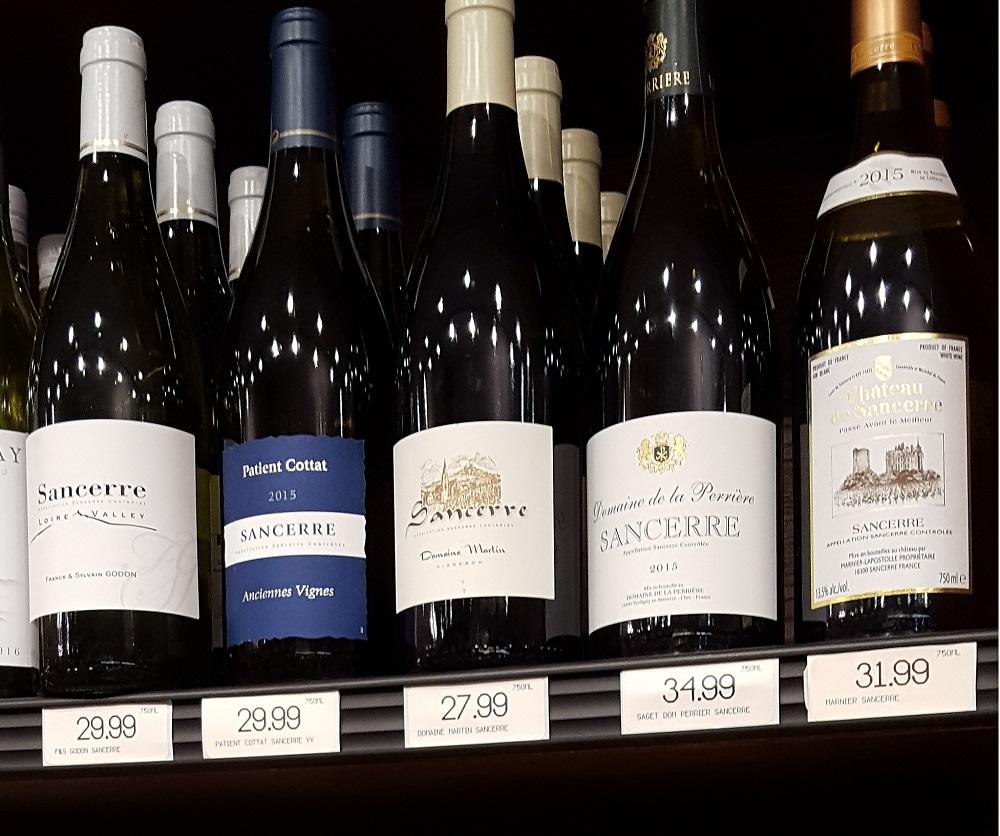 Aux, Etats-Unis, l'année 2020 a été difficile pour les vins de Loire, notamment les blancs secs, comme le Sancerre.