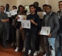 De nouveaux migrants formés en viticulture