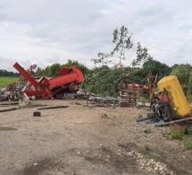 Après la grêle, une tornade dévastatrice à Saint-Nicolas de Bourgueil